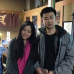 Guest couple from China 大連