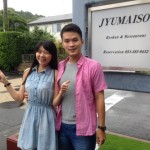 Guest couple from Taiwan