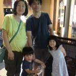 Guest family from Fujisawa, Kanagawa