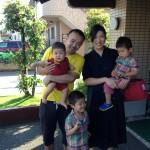 Guest family from Fukui