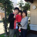 Guest family from Gifu-ken