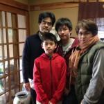 Guest family from Higashimurayama Tokyo