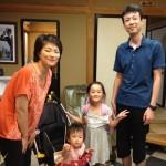 Guest family from Kanagawa-ken