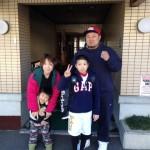 Guest family from Matsumoto, Nagano