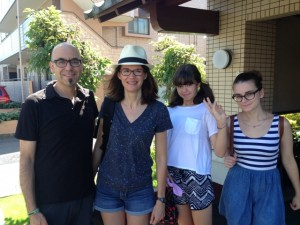 Guest family from NY, U.S.A.