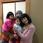Guest family from Ohta-ku, Tokyo
