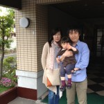 Guest family from Okayama