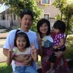 Guest family from Sagamihara, Kanagawa