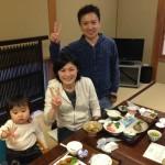 Guest family from Saitama Yashio