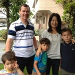 Guest family from Singapore