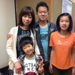 Guest family from Suginami, Tokyo