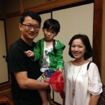 Guest family from Taiwan