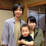 Guest family from Utsunomiya, Tochigi