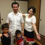 Guest family from Uzbekistan