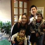 Guest family from Yamanashi