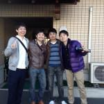 Guest group from Tokyo, Kanagawa and Aichi