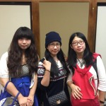 Guest ladies from Beijing China