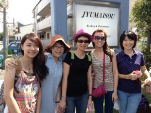 Guest ladies from Taiwan
