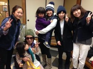 Guest ladies from Tokyo, Chiba and Kanagawa