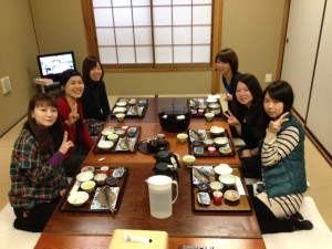 Guest ladies from Tokyo and Aichi