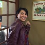 Guest lady from Uzbekistan