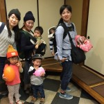 Guest mothers and the children from Nagoya