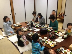 Guest mothers from Shimizu