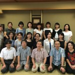 Guest reunion group from Shizuoka city