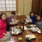 Guest runner's group from Tokyo
