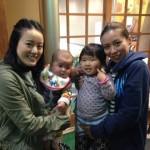Guests from Saitama and Mie