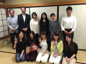 Guests from a company in Shizuoka city